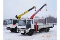 Самопогрузчик Isuzu Forward 5 тонн
